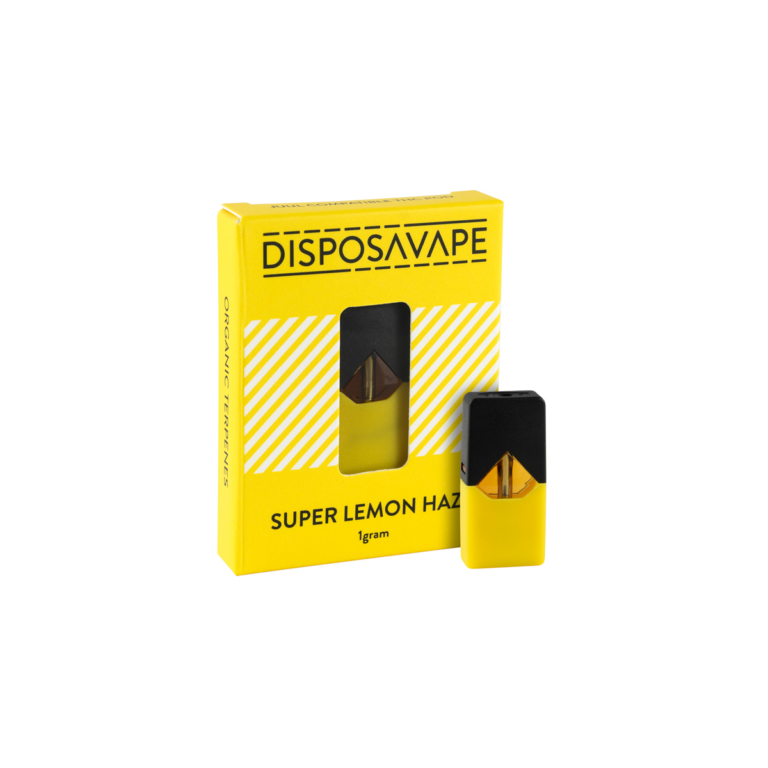 Juul-weed-vape-pods-Super-Lemon-Haze-flavour